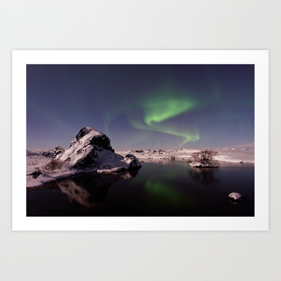 Northern Lights XVV Art Print