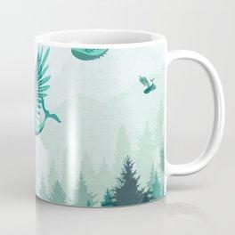 Whales flying Coffee Mug