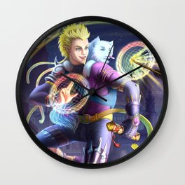 Fox Kid Wall Clock