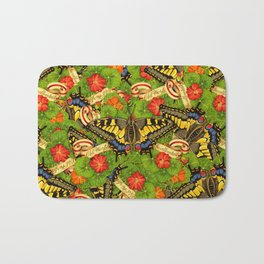 Old World Swallowtail Cacophony Bath Mat