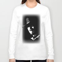 clint barton Long Sleeve T-shirts featuring CLINT by DRMdesign