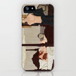 strange bedfellows iPhone Case