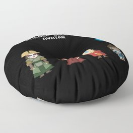 Avatar Selection Screen Floor Pillow