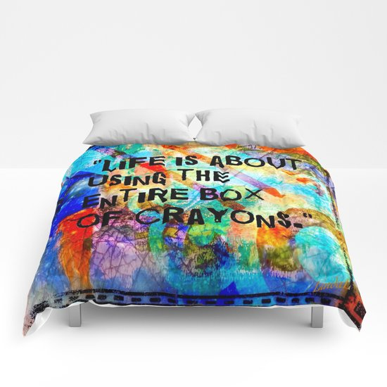Crayon Box 2 Comforters