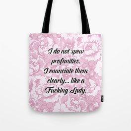 Fucking Lady Tote Bag