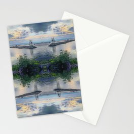 When The Sun Sets Stationery Cards