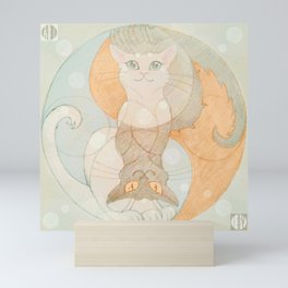 Good Cats Mini Art Print