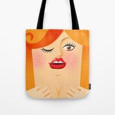 Lola Red Tote Bag