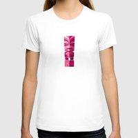 tiki T-shirts featuring Tiki Idol by Pork-Pie Brand by Luc Latulippe