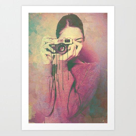 P Women Art Print