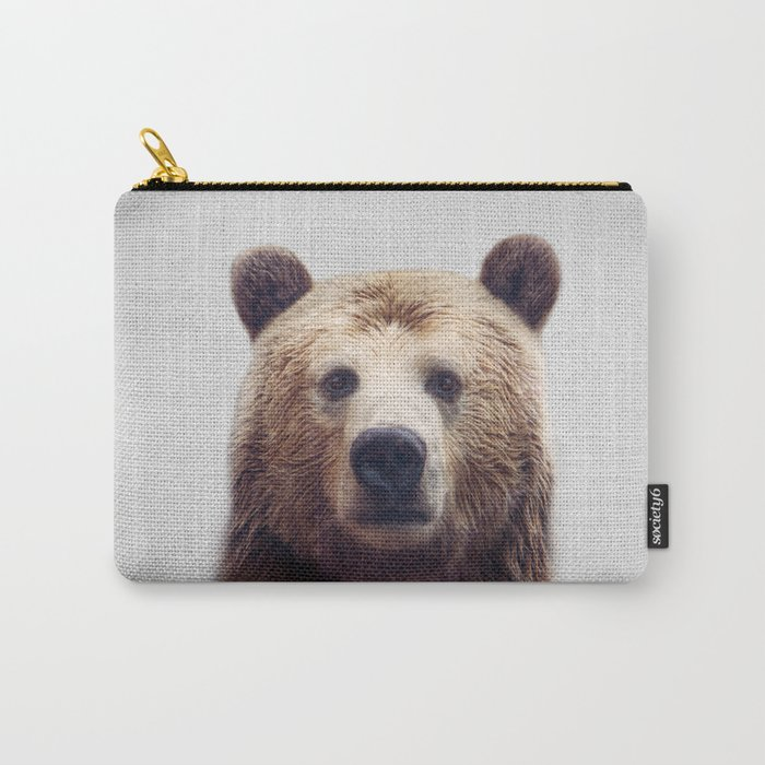 Bear - Colorful Carry-All Pouch