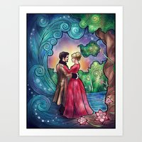 It Always Starts With A Dance Art Print