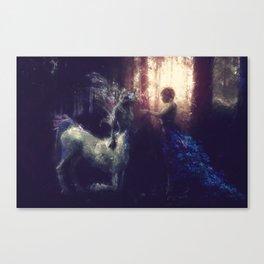 Centaur Girlfriend Canvas Print