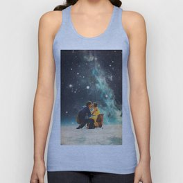 I'll Take you to the Stars for a second Date Unisex Tank Top