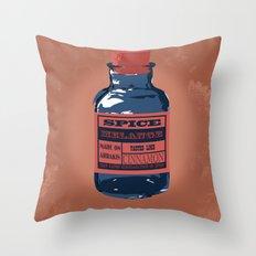 Spice Trade Throw Pillow