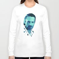 rick grimes Long Sleeve T-shirts featuring Rick Grimes - The Walking Dead by Dr.Söd