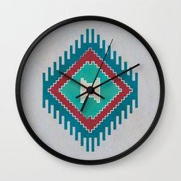 Pistachio Persian Kilim Wall Clock