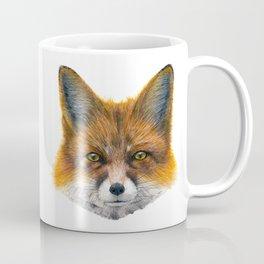 Fox face - Painting in acrylic Coffee Mug