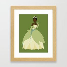 Tiana from Princess and the Frog Framed Art Print