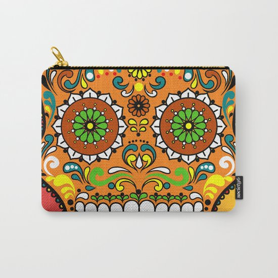Sugar Skull #8 Carry-All Pouch