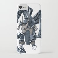 charizard iPhone & iPod Cases featuring Meta Charizard by VictorVieitez