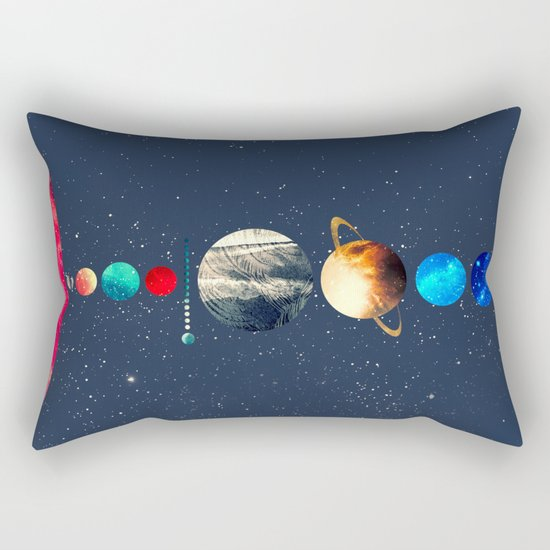 Solar System vol 2 Rectangular Pillow
