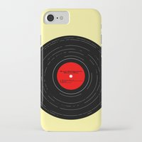 bruce springsteen iPhone & iPod Cases featuring Born to Run- Bruce Springsteen Vinyl by MisfitIsle