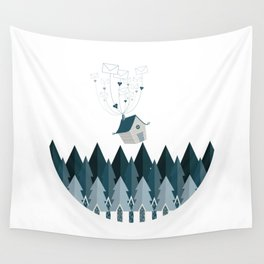 Far Away Love Wall Tapestry