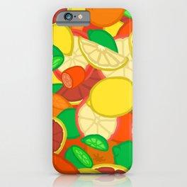 Cute Fruits! iPhone Case
