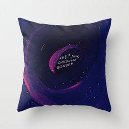 Keep Your Childhood Wonder Throw Pillow
