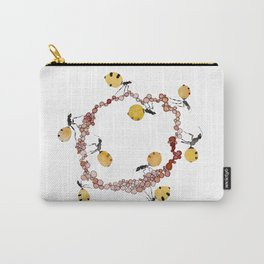 Honey Ant Roundabout Carry-All Pouch