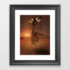 The Master Framed Art Print