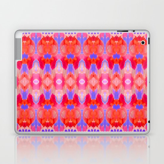 Watercolour Ikat III Laptop & iPad Skin