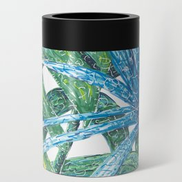 Philodendron & Flora Can Cooler