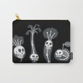 X-rays vegetables (black background) Carry-All Pouch