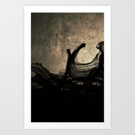 An Ocean of Dischord Art Print