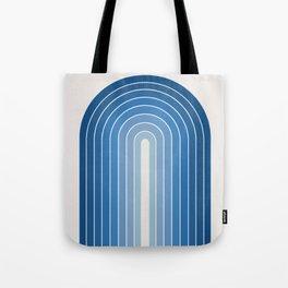 Gradient Arch - Classic Blue Tones Tote Bag