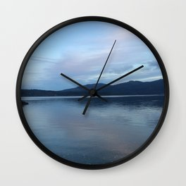 Dusk on the Puget Sound Wall Clock