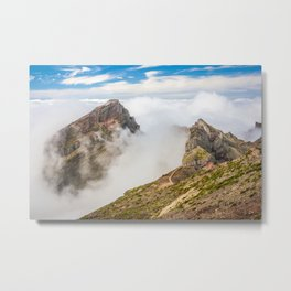 Mountains on Madeira Metal Print