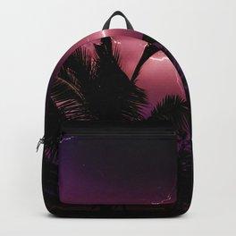 Sunset Lightening Storm (Color) Backpack