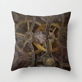 Gear Throw Pillow