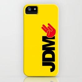 JDM shocker v3 HQvector iPhone Case