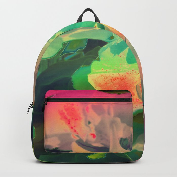 Pop Art Flowers Backpack