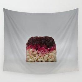 Beet Macaroni Lunchbox Wall Tapestry