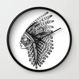 INDIANS - 3 Wall Clock
