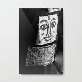 BELIEVE SURVIVORS Metal Print