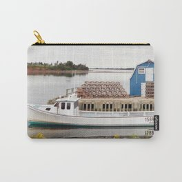 Lobster Boat and Traps Carry-All Pouch