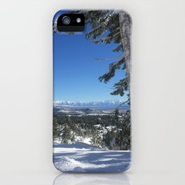 Mammoth Mountain iPhone Case
