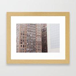NYC Patterns Framed Art Print