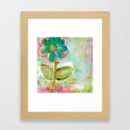 Le Bleuet Framed Art Print